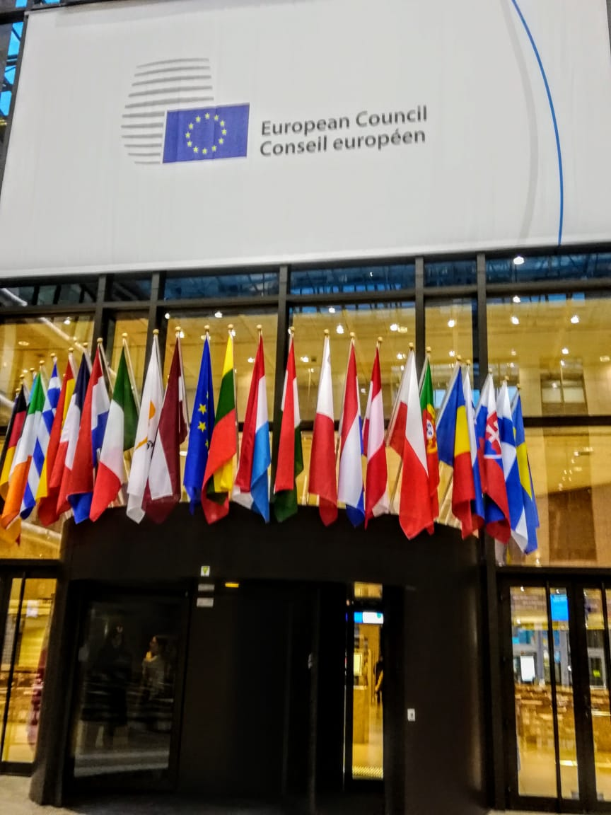 Entradando al  Consejo Europeo a la reunión de COPOLAD