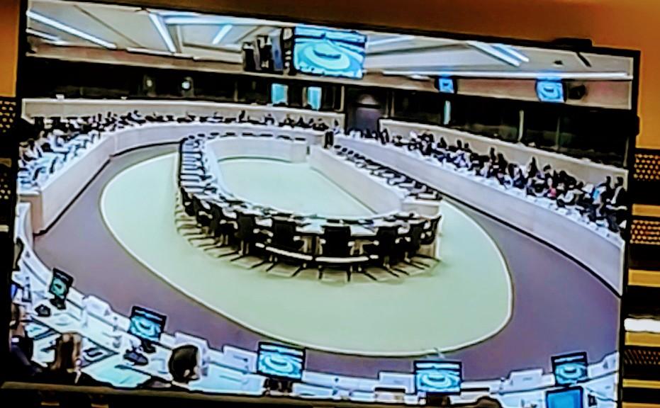 Participacion en la Reuniondel Mecanismo  Bi- Regional Unión Europea - Latinoamerica sobre lucha contra tráfico ilícito de drogas. Bruselas feb 2020