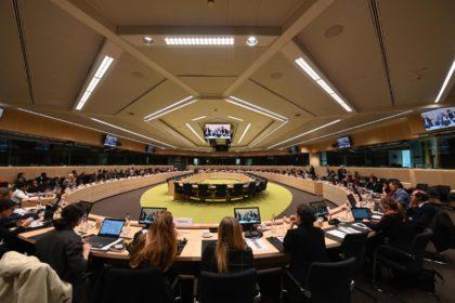 Reunion COPOLAD Unión Europea - Latinoamerica en tema de tráfico  ilícito de drogas.